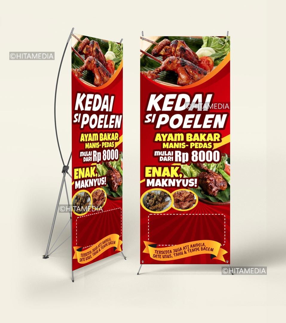 portofolio Buat Banner Guna Adobe Illustrator