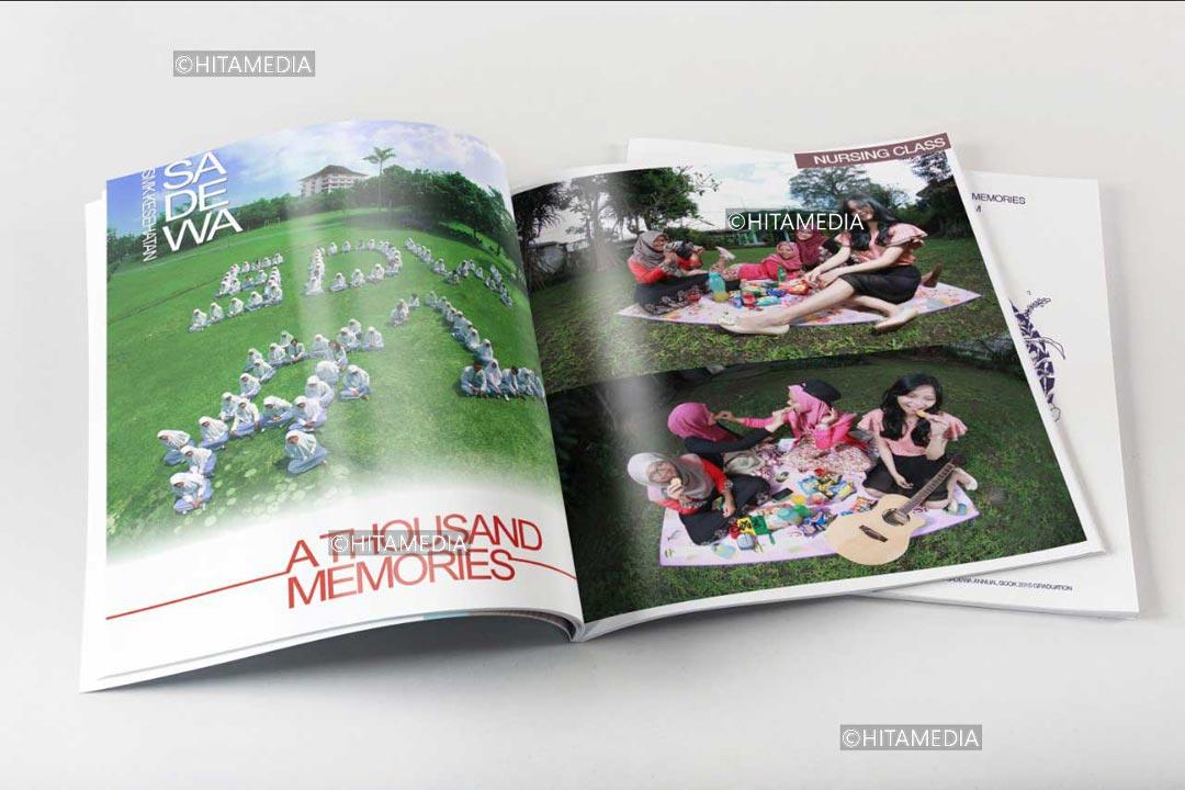 portofolio Jasa Desain Buku Tahunan Sekolah