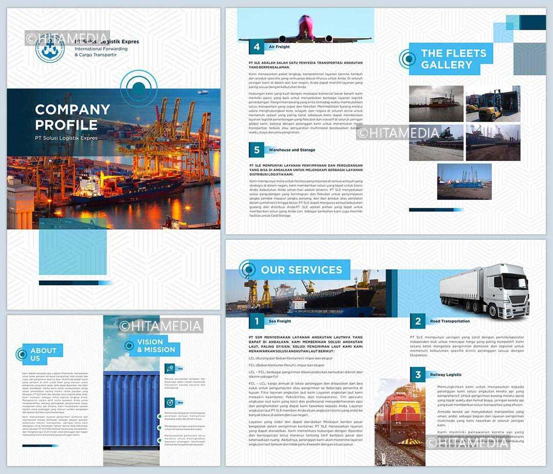 portofolio Harga Biaya Pembuatan Company Profile