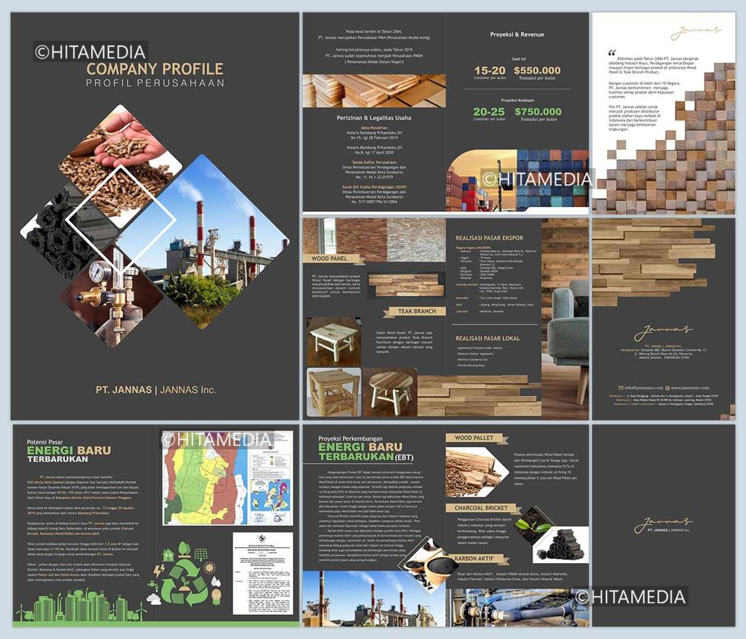 portofolio Harga Bikin Company Profile