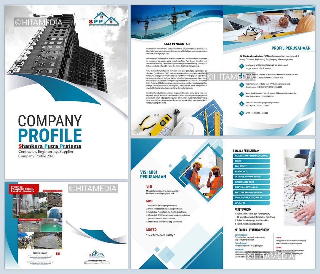portofolio Harga Pembuatan Company Profile