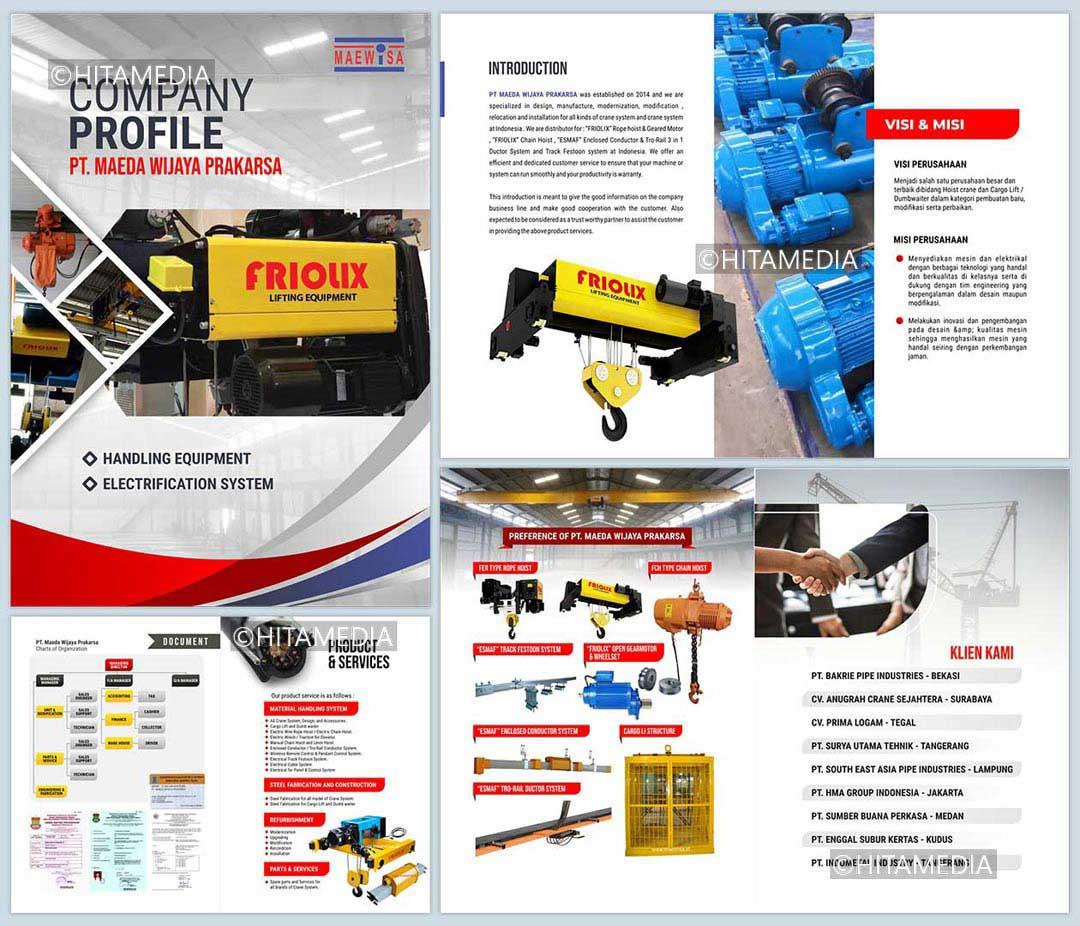 portofolio Harga Pembuatan Company Profile Cetak
