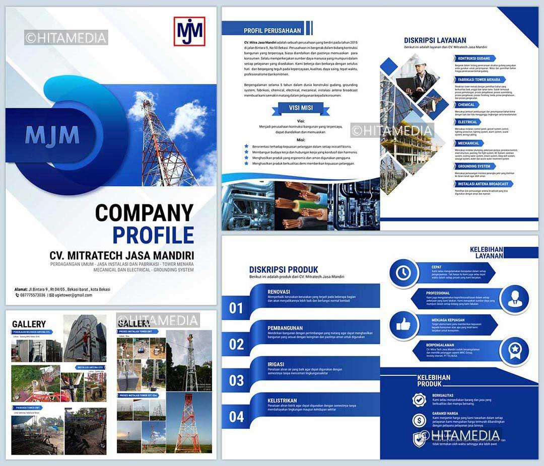 portofolio Company Profile Jasa Cleaning Service