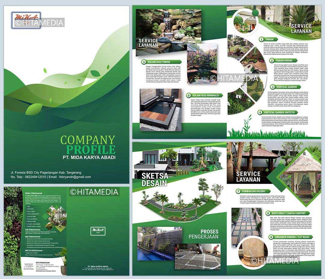 portofolio Buat Company Profile Unik