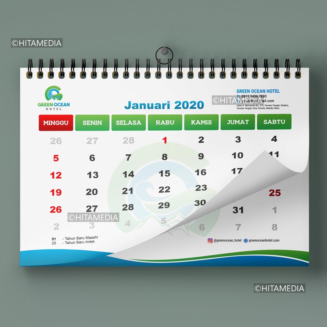portofolio Biaya Buat Kalender