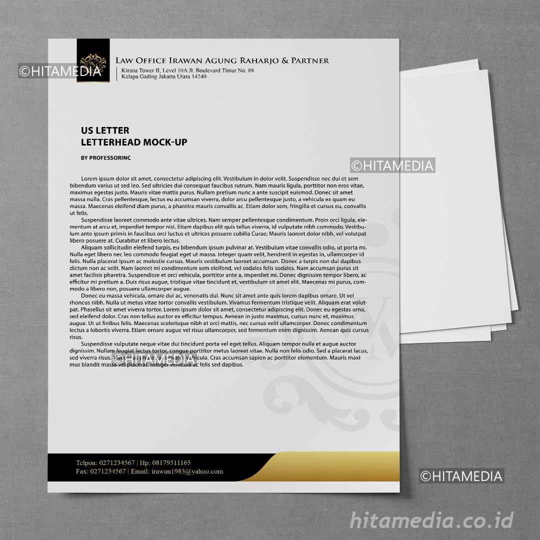 portofolio Buat Kop Surat Di Word 2021