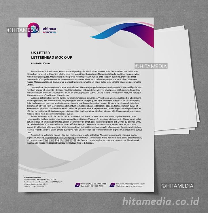 portofolio Membuat Desain Kop Surat
