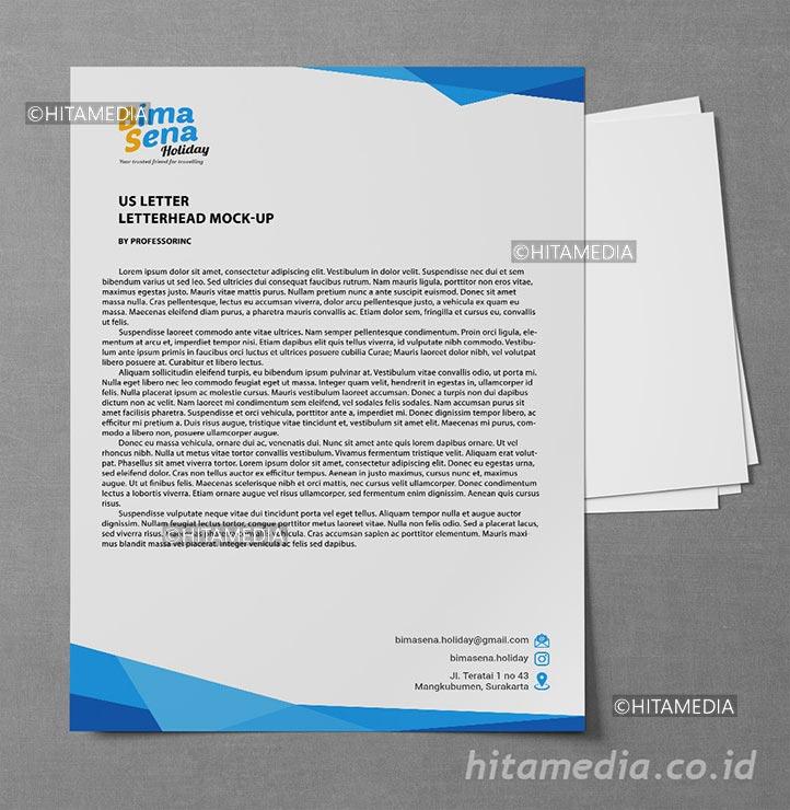 portofolio Jasa Cetak Kop Surat Bekasi