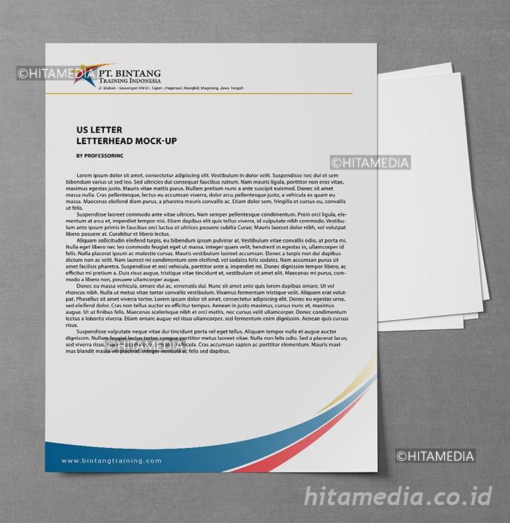 portofolio Bikin Kop Surat Di Amplop