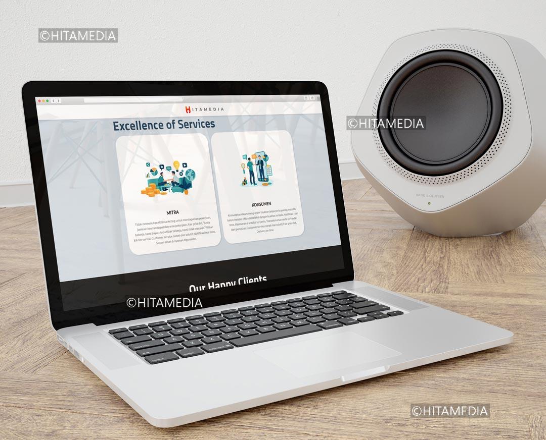portofolio Jasa Pembuatan Website Membership
